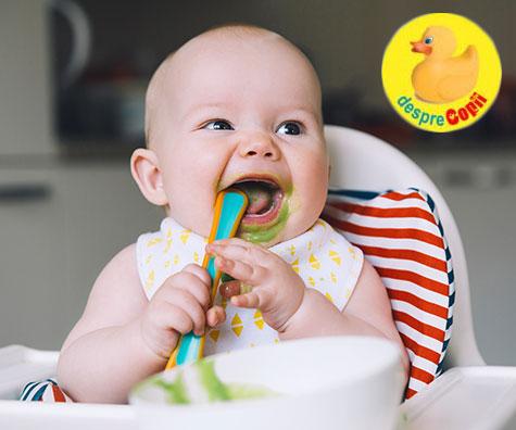 Alimentele pe care bebelusul ar trebui sa le manance pentru o dezvoltare optima a creierului