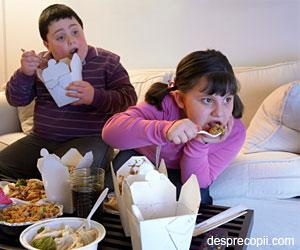 Copiii obezi dezvolta boli cardiace in adolescenta