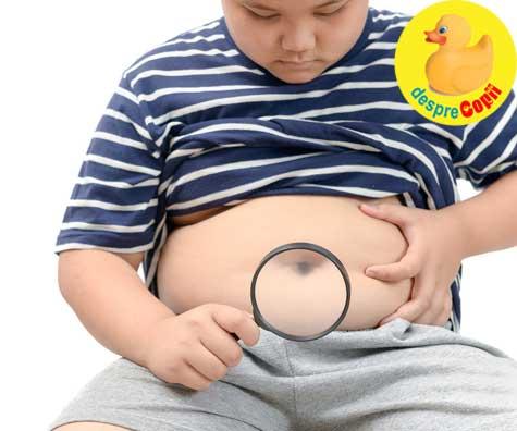 Copiii obezi dezvolta boli cardiace in adolescenta. Tine sub observatie indicele sau de masa corporala.