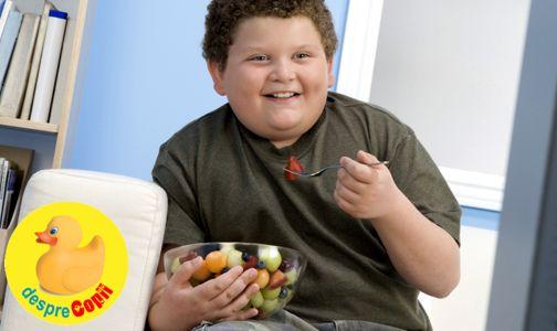 Obezitatea la varste fragede: rolul parintilor