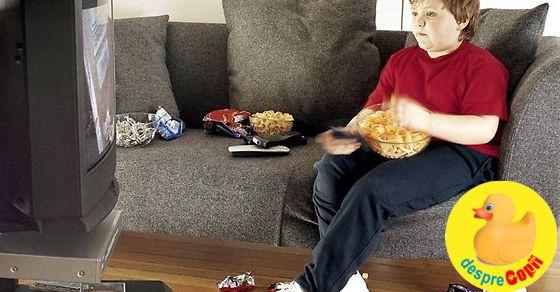 Televizorul si obezitatea copilului: ce trebuie sa inteleaga parintii