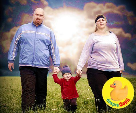 Obezitatea la copil: 8 factori de risc