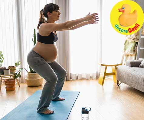 Esti o graviduta supraponderala? O alimentatie corecta si mai multa miscare impiedica modificari genetice negative la bebelusul din burtica