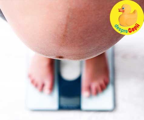 Obezitatea mamei in timpul sarcinii  - iata ce efecte are asupra baietilor