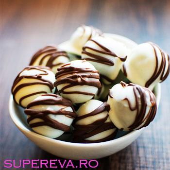 Trufe de ciocolata cu Oreo