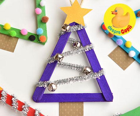 Ornamente de Craciun dragute si usor de facut cu copiii