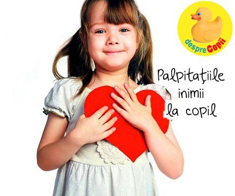 Palpitatiile inimii la copil