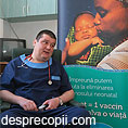 """Prima donatie Pampers® din cadrul campaniei """"1 pachet = 1 vaccin"""""""