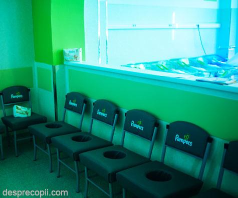 Pampers se implica in procesul de modernizare a mai multor maternitati din Romania