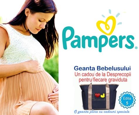 Pampers sustine gravidutele la Geanta Bebelusului 5