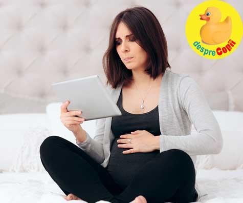 Panica in ultimele saptamani de sarcina - jurnal de sarcina