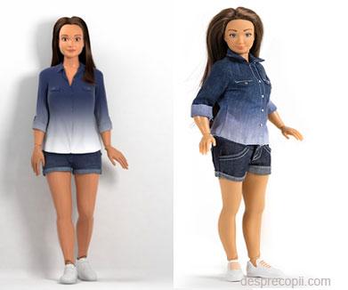 Noua rivala a lui Barbie – papusa Lammily