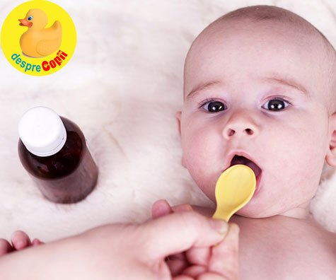 Paracetamol sau Ibuprofen contra febrei? Despre ce contin aceste medicamente si ce este mai bine sa dam bebelusului in caz de febra