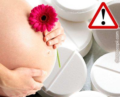 Sarcina si paracetamolul: riscul de autism al copilului