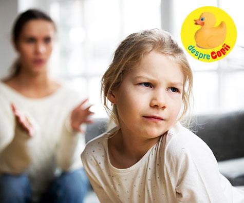 Iată de ce a fi părinte inseamnă să spui și NU și să le ceri și lucruri pe care nu vor să le facă...