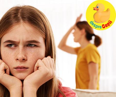 Parinte de adolescent - Cresterea unui adolescent este ca si cresterea unui copil mic, numai personajul principal este mai mare si are crize mai mari de furie...