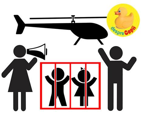 Intre frica si parenting echilibrat: cum micsoram riscul a fi parinti elicopter