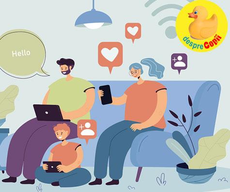 Retelele de socializare si efectul lor asupra modului in care functionam ca parinti: multe mamici transmit copiilor setea lor de faima temporara si inutila a retelor sociale