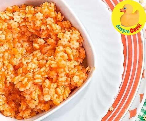Paste cu morcov - reteta pentru bebelusi si copilasi