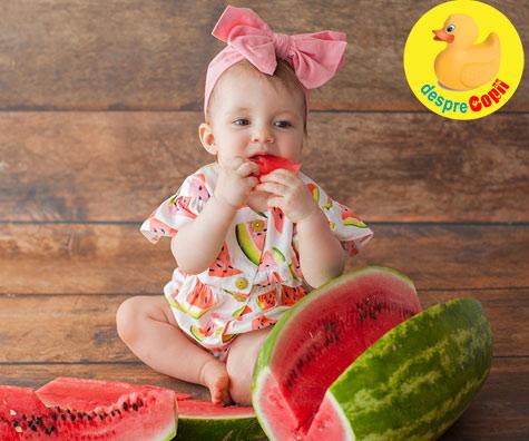 Pepenele verde: iata cand putem sa oferim si in cel fel acest fruct bebelusului - recomandari