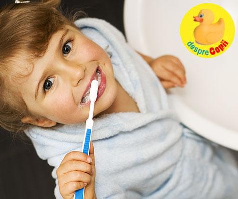 Cat timp dedicam periajului dentar la copii?