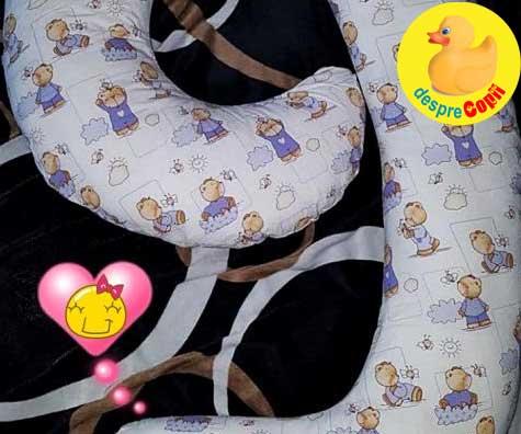 Perna pentru gravide: imi este utila si mie dar si lui bebe - jurnal de sarcina