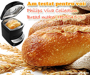 Philips Viva Collection Bread maker HD9045/90, stie secretul painii de casa