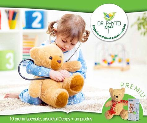 Concurs - Fitoterapia protejeaza natural copilaria!