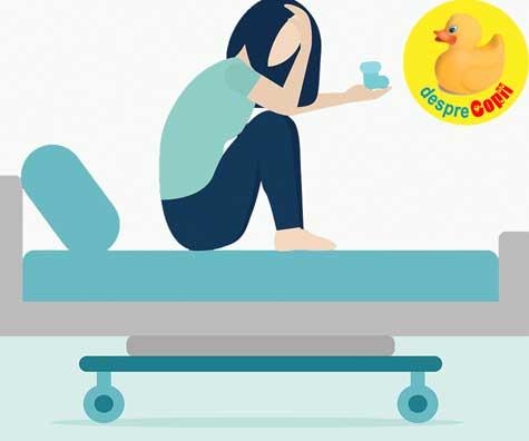 Pierderea sarcinii: ganduri, emotii si dureri. Sfatul psihologului.