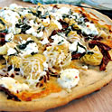 Pizza la gratar