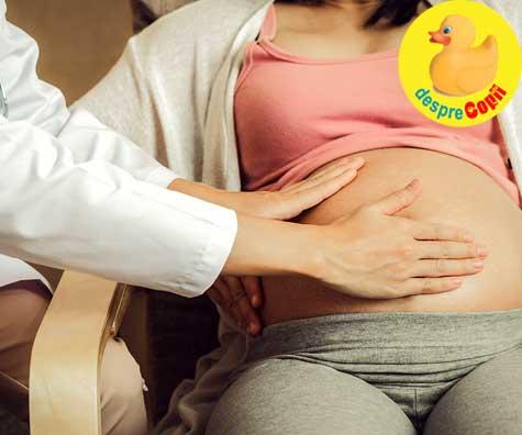 Morfologia de trimestrul 2 ne-a aratat placenta anterioara si cordon infasurat - jurnal de sarcina