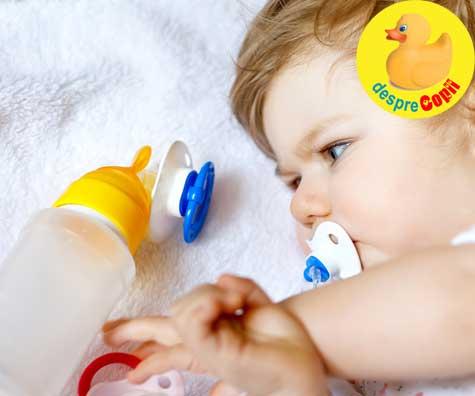 Mami nu fa din bebelusul tau un viitor obez. Ce si cum mananca bebelusul acum influenteaza riscul de obezitate mai tarziu