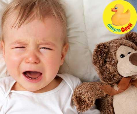 Plansetele de seara ale bebelusului. Pentru ca exista un surplus de energie si mami e obosita si stresata