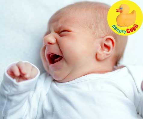 Plansul bebelusului. Cum intelegem diverse tipuri de plans si ce trebuie sa facem