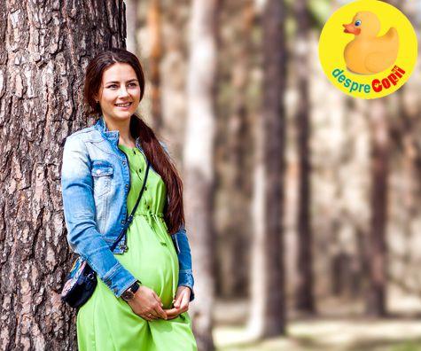 Plimbarile pot reduce incidenta diabetului in sarcina - asa ca la plimbare dragi gravidute!