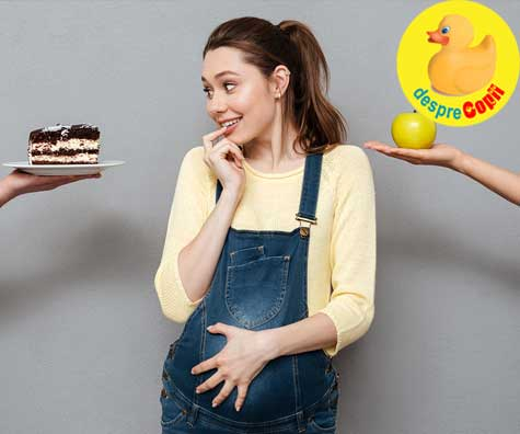 Bebe din burtica adora ciocolata - jurnal de sarcina