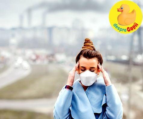 Poluarea poate cauza nasterea prematura