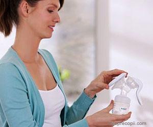 Pompa de san Philips AVENT, ajutor perfect pentru o alaptare relaxata