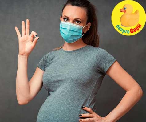 Nu m-as fi gandit nici intr-un milion de ani ca o sa fiu gravida si o sa nasc in pandemie - jurnal de sarcina