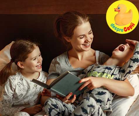 Copiii au nevoie de povesti inainte de culcare