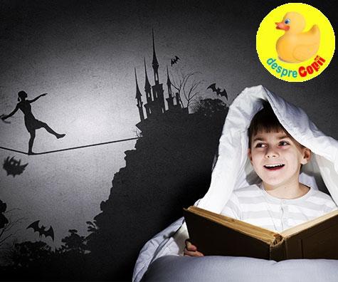 De ce povestile infricosatoare sunt bune pentru copii