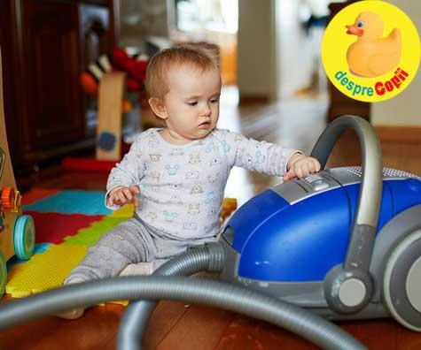 Praful din casa este daunator sanatatii bebelusului - iata cum si de ce