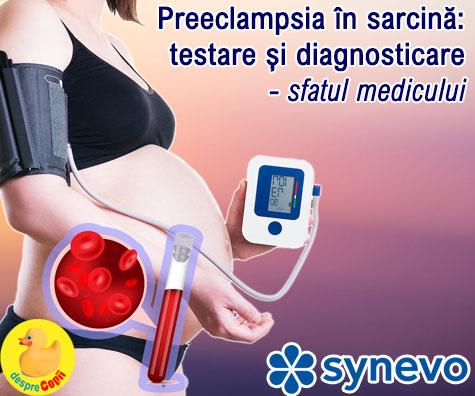 Preeclampsia in sarcina:  testare si diagnosticare - sfatul medicului (VIDEO)