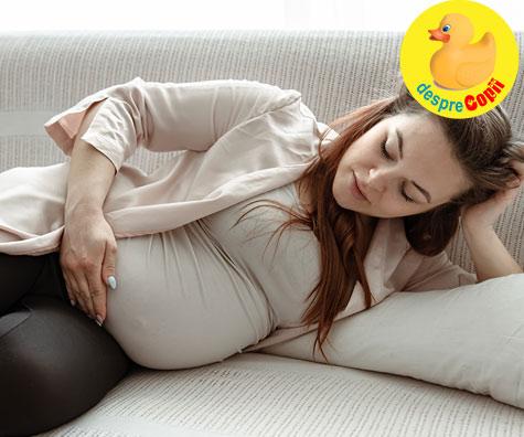 Ultimele zile inaintea nasterii - jurnal de sarcina