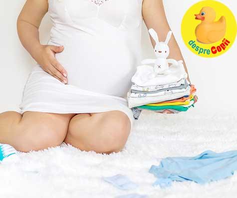 Pregatiri pentru venirea bebelusului - jurnal de sarcina