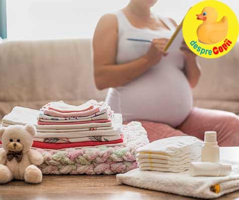 Pregatiri intense pentru venirea lui bebe - jurnal de sarcina