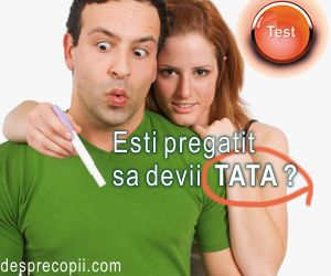 Esti pregatit de devii tata? TEST