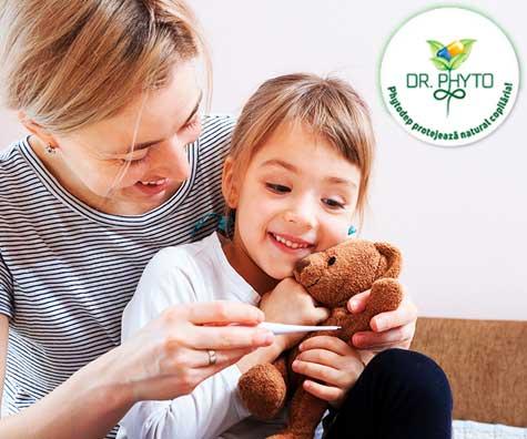 Ce putem face pentru scaderea duratei si severitatii infectiei respiratorii superioare la copii?