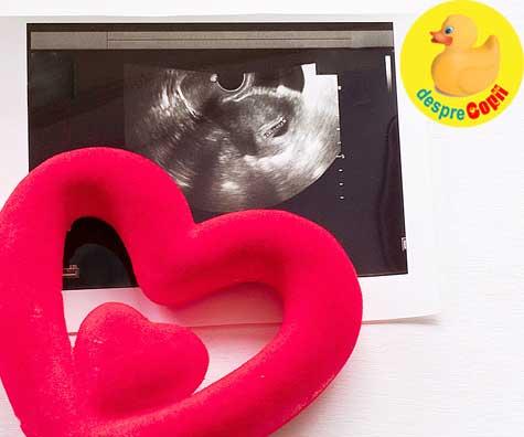 Un moment atat de emotionant: prima ecografie - jurnal de sarcina