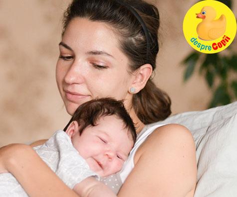 Prima menstruatie dupa nasterea bebelusului